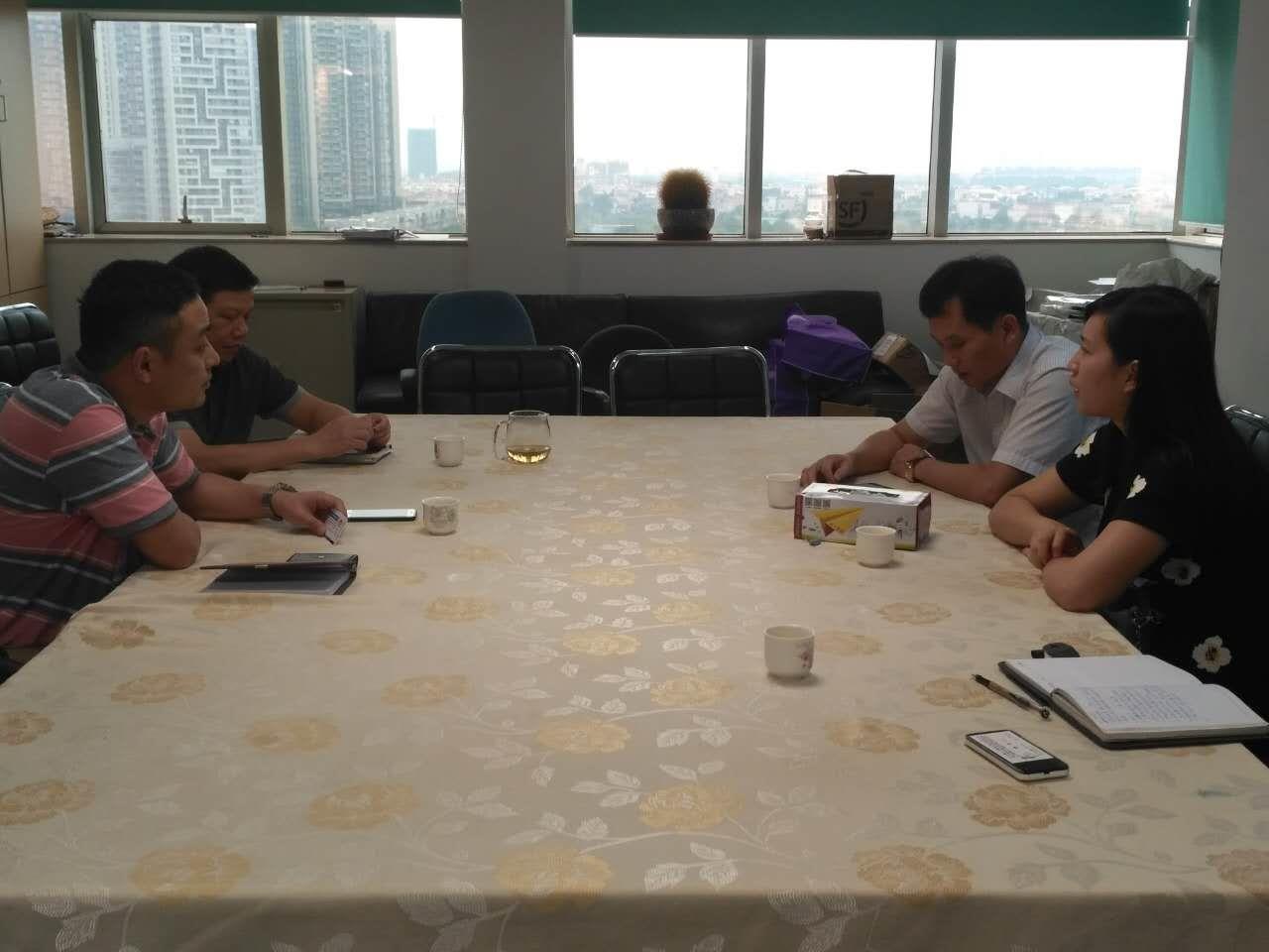 【工作会议】政企交流--协会拜访镇经促局
