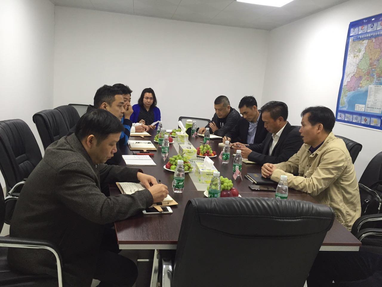 【工作会议】政企交流--陈村镇经促局到访协会